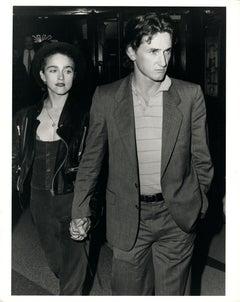 Madonna Walking with Sean Penn Vintage Original Photograph