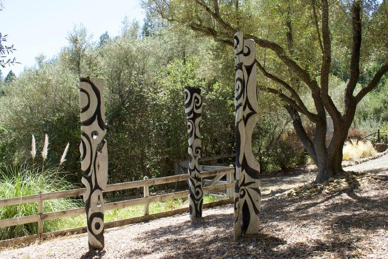 Steve Jensen Abstract Sculpture - Zebra Fish