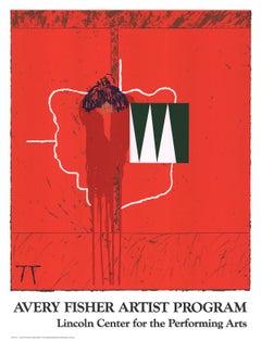 "Steve Joy-Avery Fisher Artist Program-44.5"" x 34""-Serigraph-1991-Contemporary"