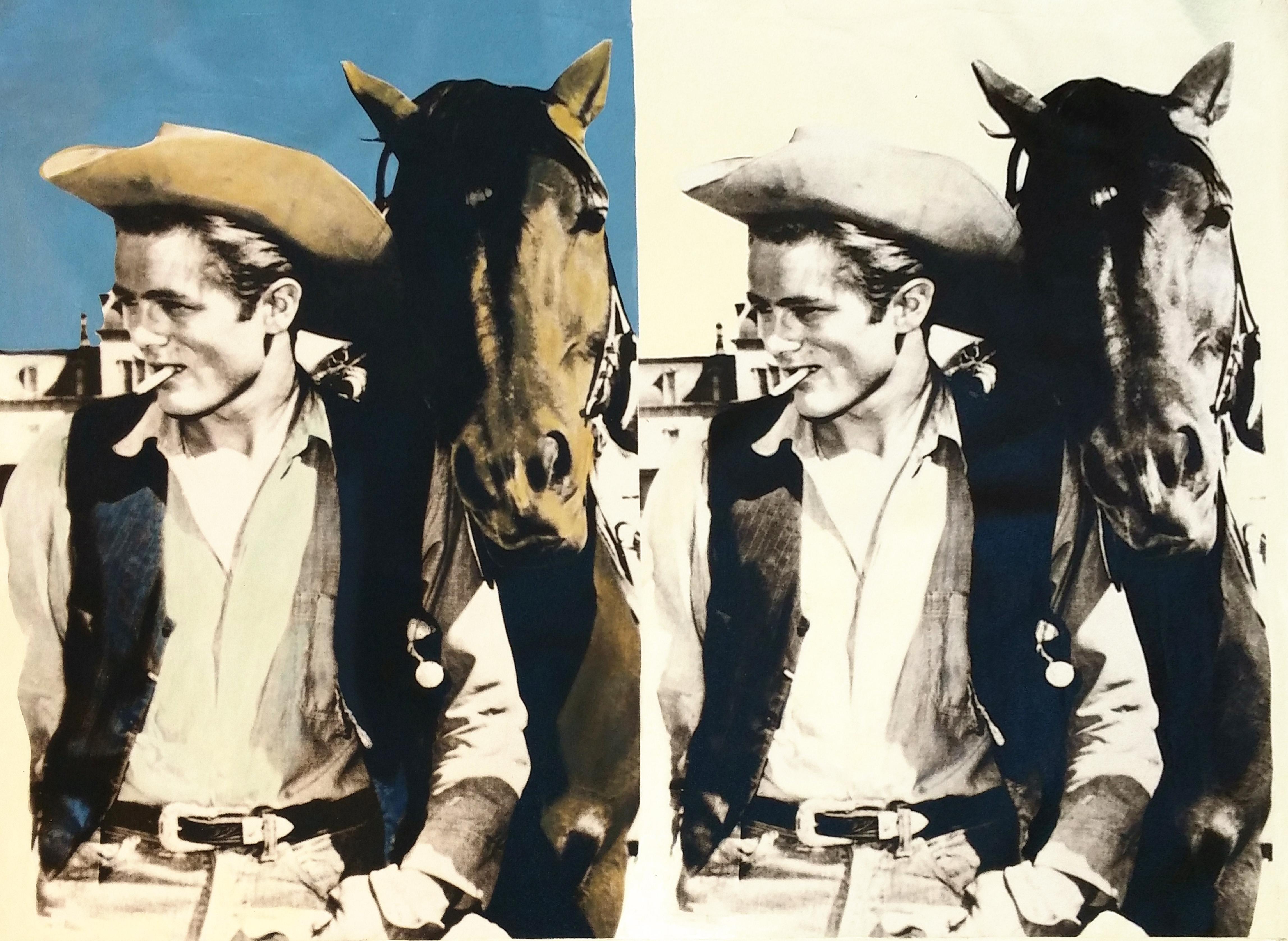DOUBLE JAMES DEAN - THE COWBOY