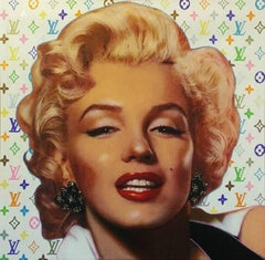 POP MARILYN - LOUIS VUITTON STYLE