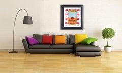 Steve Kaufman Campbells Tomato Soup Warhol Famous Assistant Pop Art Oil Painting