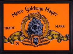 Steve Kaufman MGM Goldwyn Mayer Warhol Famous Assistant Oil Painting Canvas
