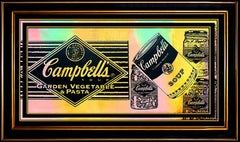 STEVE KAUFMAN Oil Painting on Canvas Original Signed Campbells Soup Authentic