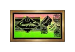 STEVE KAUFMAN Original OIL on CANVAS PAINTING Signed Campbells Soup Can Artwork