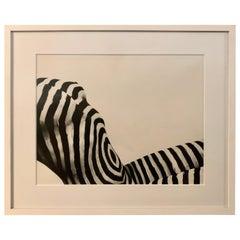 "Steve Levine Black and White Framed Photography, ""Mona"" 1"