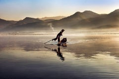 Intha Fisherman on Inle Lake, Burma