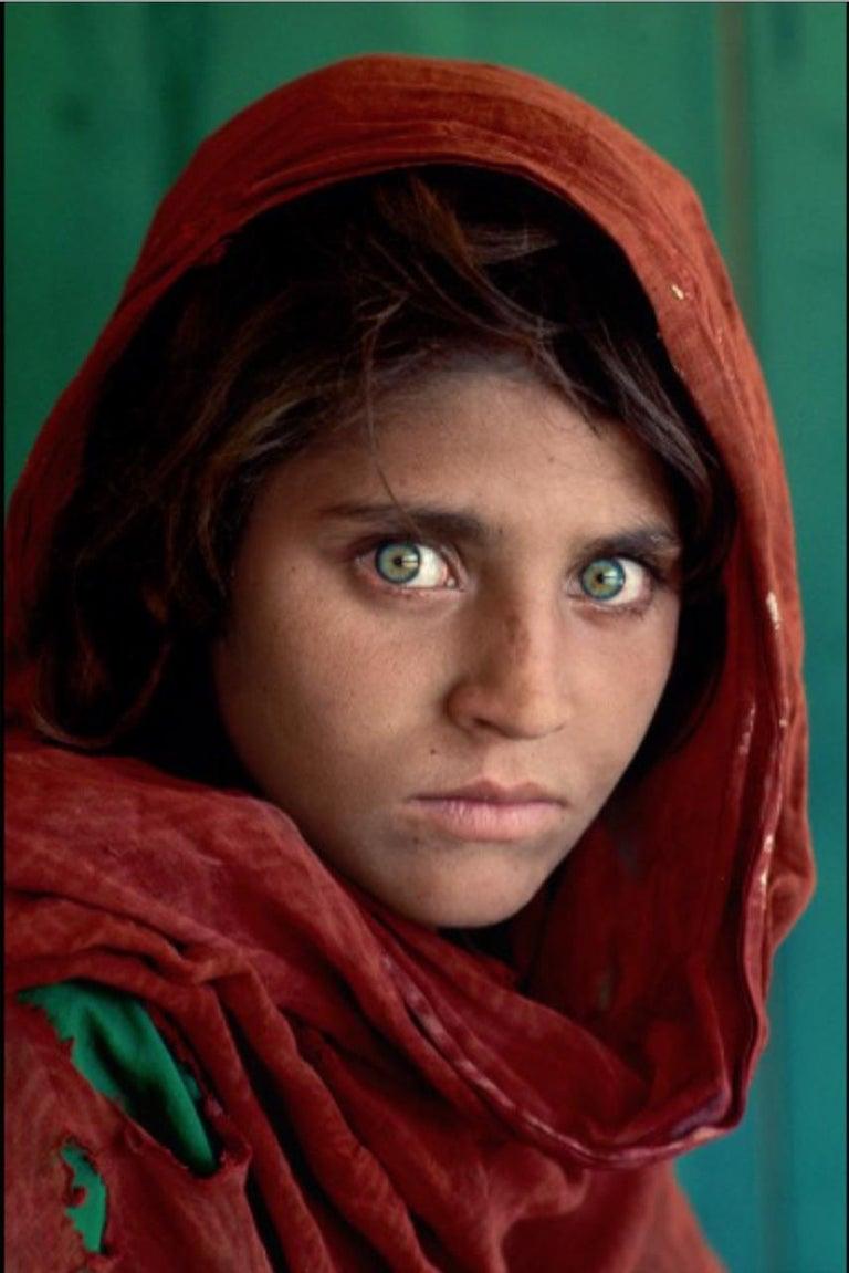 Steve McCurry Color Photograph - Afghan Girl (Sharbat Gula)