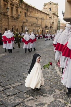 Easter Penitents Procession, Sicily, Italy