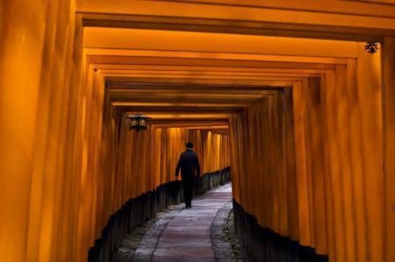 Steve McCurry Color Photograph - Fushimi Inari Shrine, Kyoto, Japan, 2007