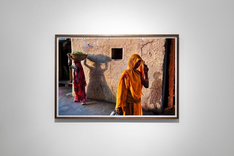 Rajasthan Shadows, Rajasthan, India, 2009 - Colour Photography For Sale 1