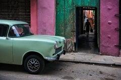 Russian Car in Old Havana, Cuba, 2010 - Steve McCurry (Colour Photography)