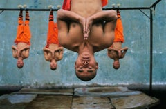 Shaolin Monks Training. Zhengzhou. China