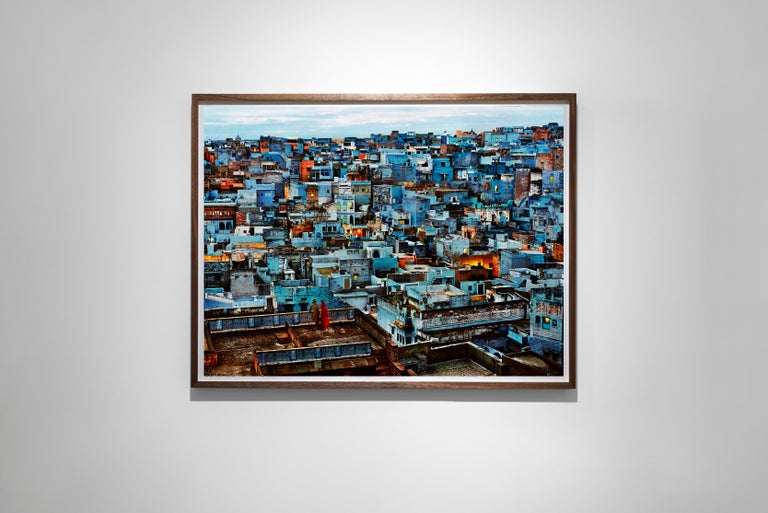 The Blue City, India, 2010 - Colour Photography - Black Color Photograph by Steve McCurry