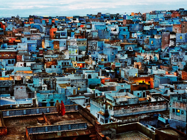 Steve McCurry Color Photograph - The Blue City, India, 2010 - Colour Photography