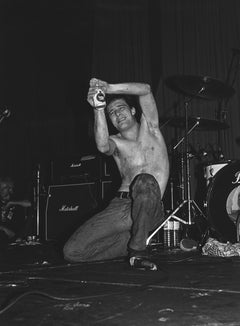 Jello Biafra of The Dead Kennedys Performing Globe Photos Fine Art Print