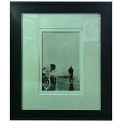 "Steve Schapiro Iconic Signed Silver Gelatin Print ""Three Men, New York 1961"""