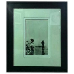 "Steve Schapiro Iconic Signed Silver Gelatin Print ""Three Men, New York 1961"""