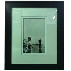 "Steve Schapiro Iconic Silver Gelatin Print ""Three Men, New York 1961"""