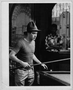 Al Pacino focused on the billiard game