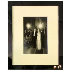 Steve Schapiro Signed Silver Gelatin Print of John F. and Jacqueline Kennedy