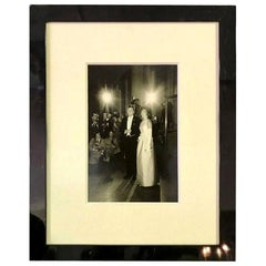 Steve Schapiro Signed Silver Gelatin Print of John F. and Jacqueline Kennedy