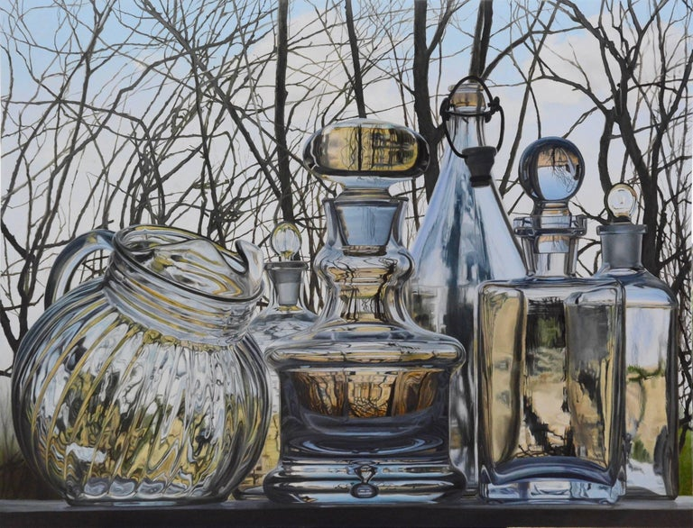 Steve Smulka Still-Life Painting - Ice Cold