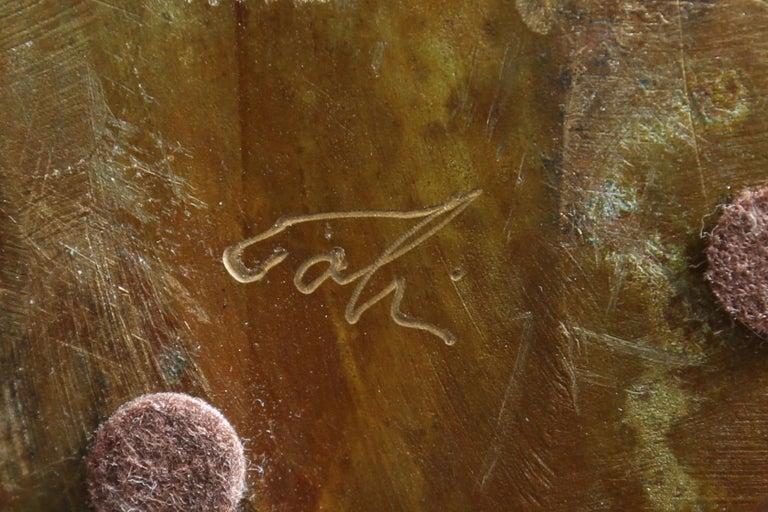 Steve Tobin Painted-Bronze Shoe Sculptures For Sale 3