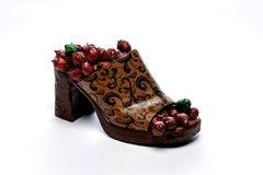 Shoe 3 - bronze shoe sculpture