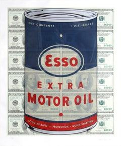 Esso Oil Can, Pop Art Silkscreen