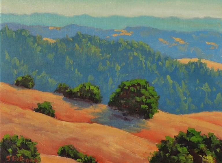 Steven Guy Bilodeau Landscape Painting - Distant Hills