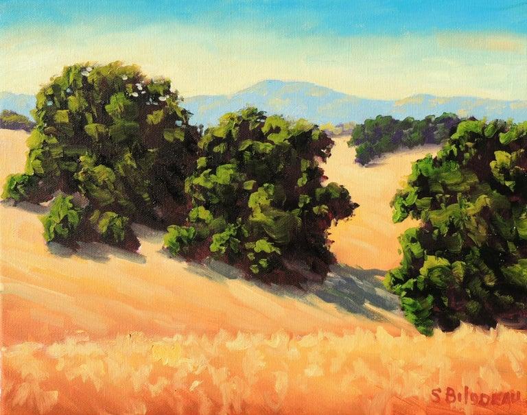 Steven Guy Bilodeau Landscape Painting - Quiet Fields