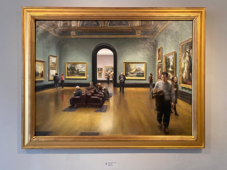 National Gallery, London - Painting by Steven J. Levin