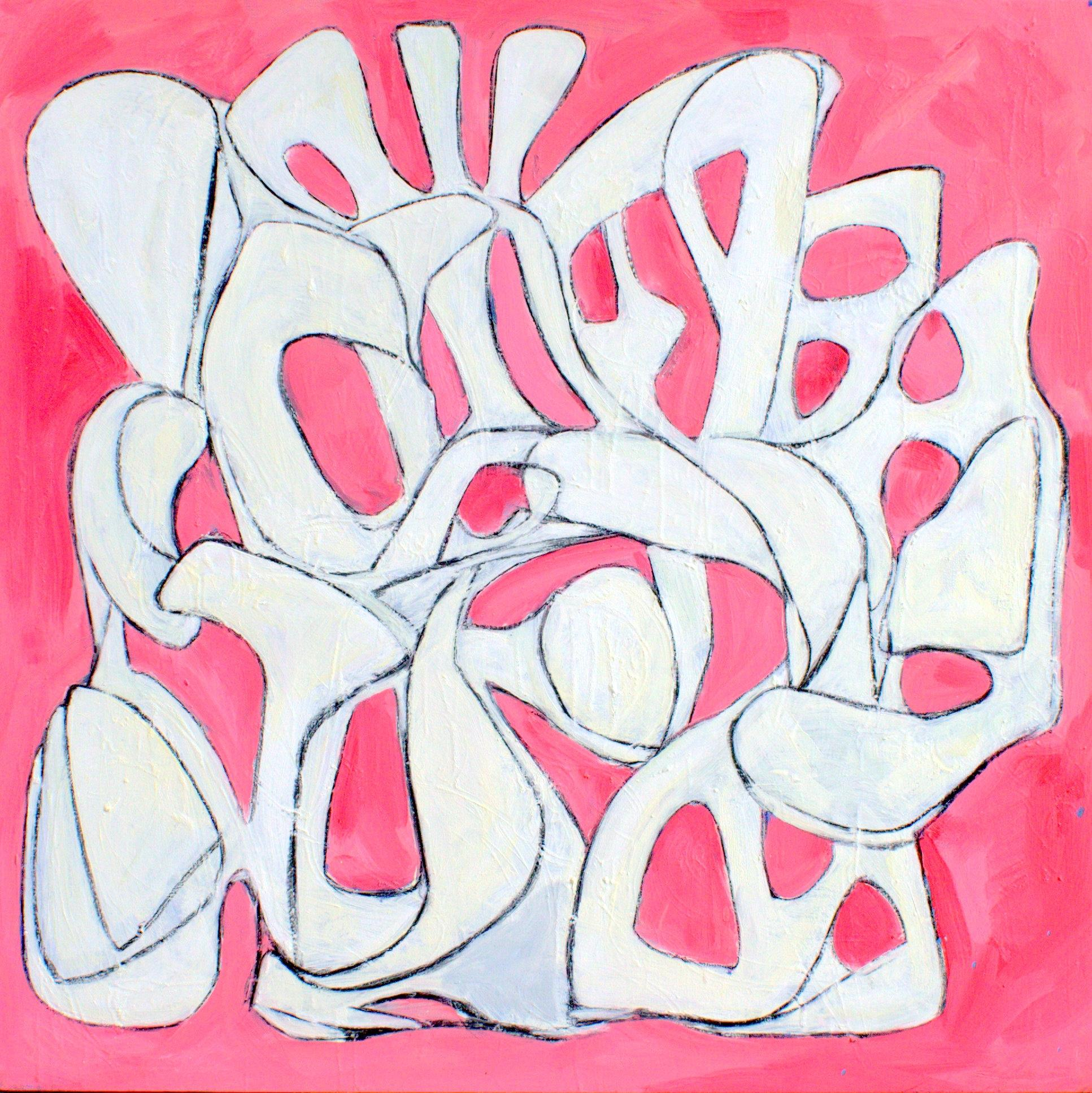 Big Pink!, Painting, Oil on Canvas