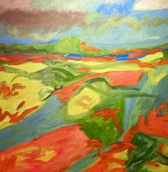 Color Field, Painting, Oil on Canvas