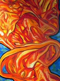 Fire No Ice, Painting, Oil on Canvas