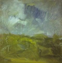 Landscape #8, Painting, Oil on Canvas