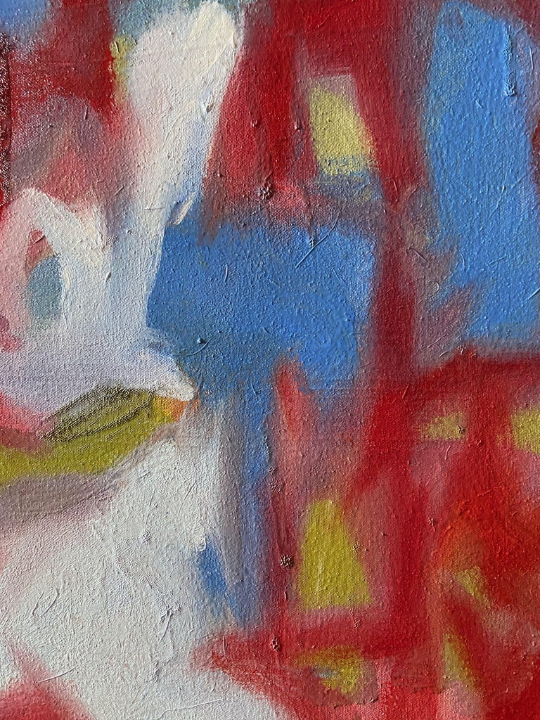 Memories of the Future, Painting, Oil on Canvas For Sale 1