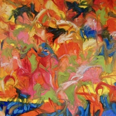 Three Hundred Butterflies, Painting, Oil on Canvas