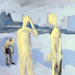 Three, Painting, Acrylic on Canvas