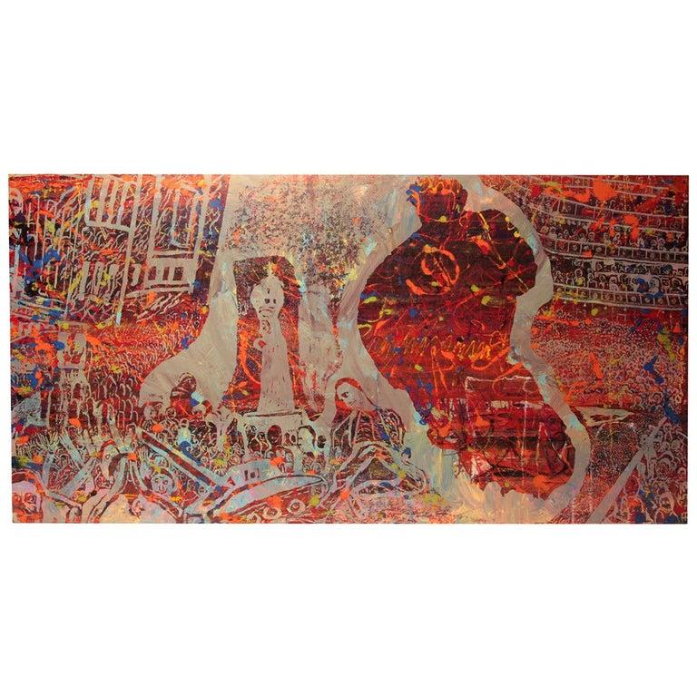 Steven Sles Painting #1 For Sale