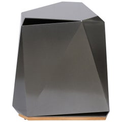 Steven Volpe Coburg Faceted Side Table, McGuire for Baker