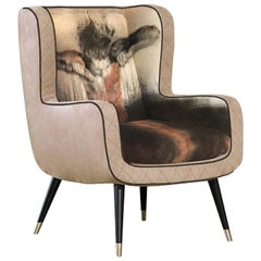 Stevie Armchair by Sergio Consonni and Pier Toffoletti