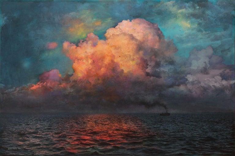 Evening on the Sea No. 1 - Mixed Media Art by Stev'nn Hall