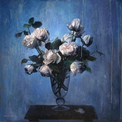 White Roses with Petal