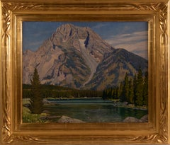 """Mount Moran"" by LeConte Stewart"