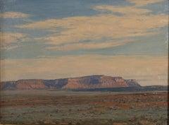 """""""Vermillion Cliffs"""" by LeConte Stewart"""
