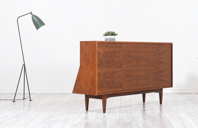 "Wood Stewart MacDougall & Kipp Stewart ""Declaration"" Bookcase for Drexel For Sale"