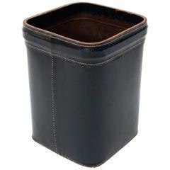 Stich Leather Paper Basket