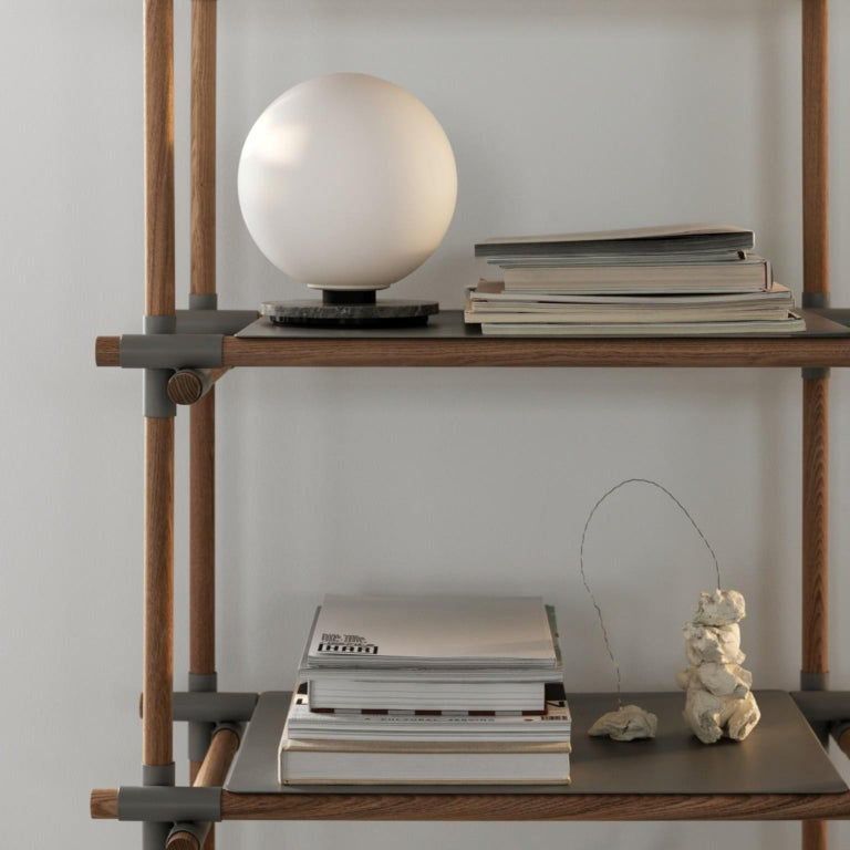 Stick System, Light Ash Shelves with Grey Poles, 3x5 For Sale 1